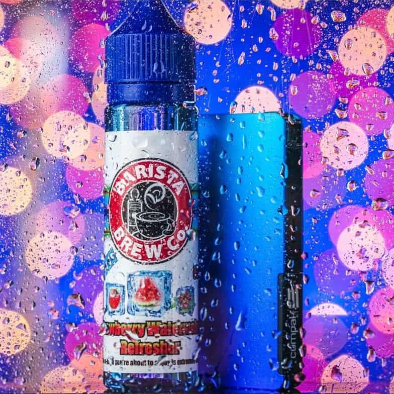 Frozen Strawberry Watermelon Refresher Barista Brew Shortfill 50ml