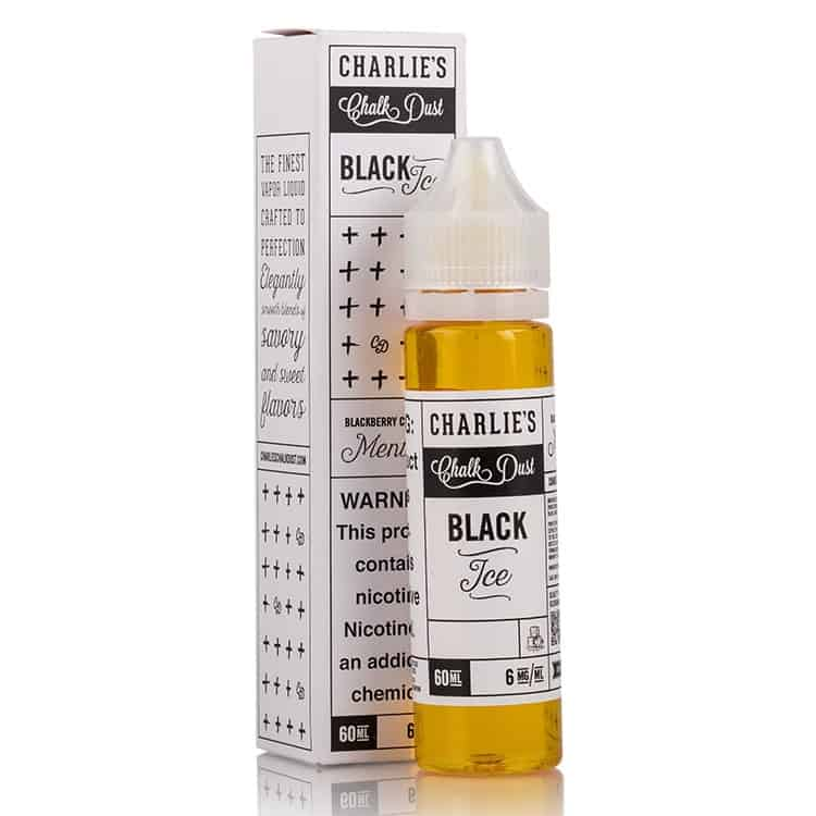 Black Ice Charlies Chalk Dust Shortfill 50ml