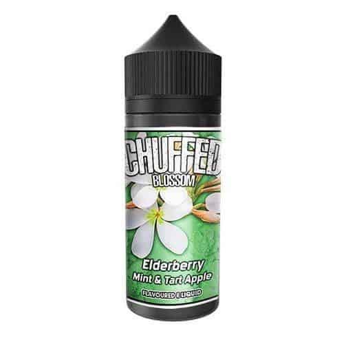 Elderberry Mint Tart Apple Chuffed Blossom Shortfill 100ml