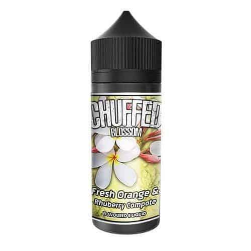 Fresh Orange Rhuberry Compote Chuffed Blossom Shortfill 100ml