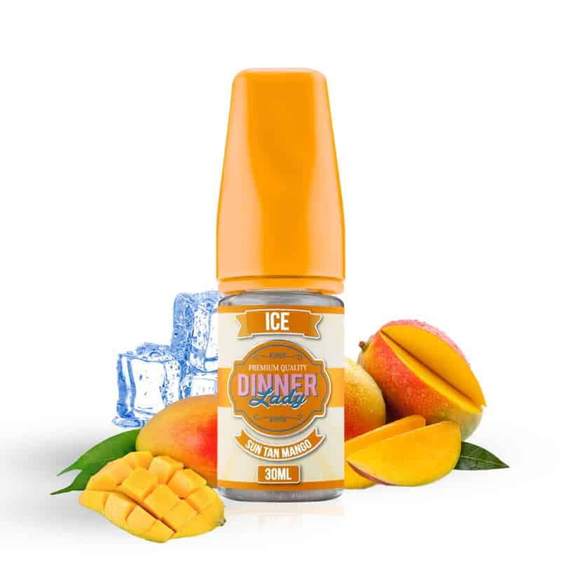 Sun Tan Mango Dinner Lady Ice Concentrate 30ml