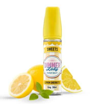 Lemon Sherberts Dinner Lady Sweets Shortfill 50ml
