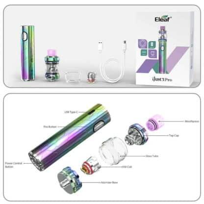 Eleaf Ijust3 Pro Ello Pop Parts Components