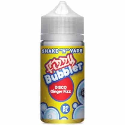 Disco Ginger Fizz Fizzy Bubbler Shortfill 50ml