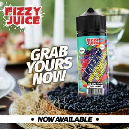 Blackcurrant Licorice Fizzy Shortfill 100ml