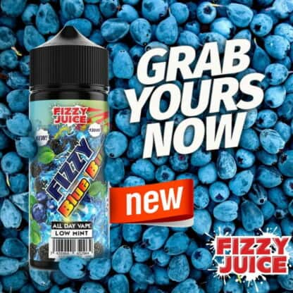 Blue Burst Fizzy Shortfill 100ml