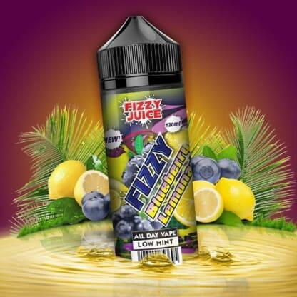Blueberry Lemonade Fizzy Shortfill 100ml