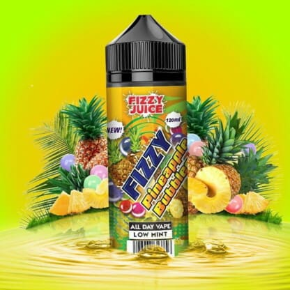 Pineapple Bubblegum Fizzy Shortfill 100ml