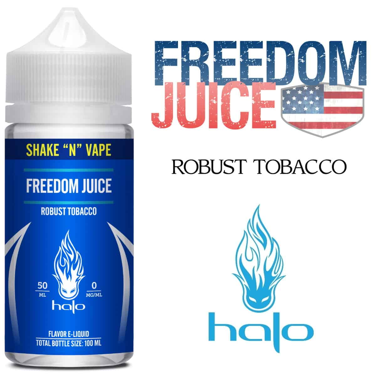 Freedom Juice Halo Shortfill 50ml