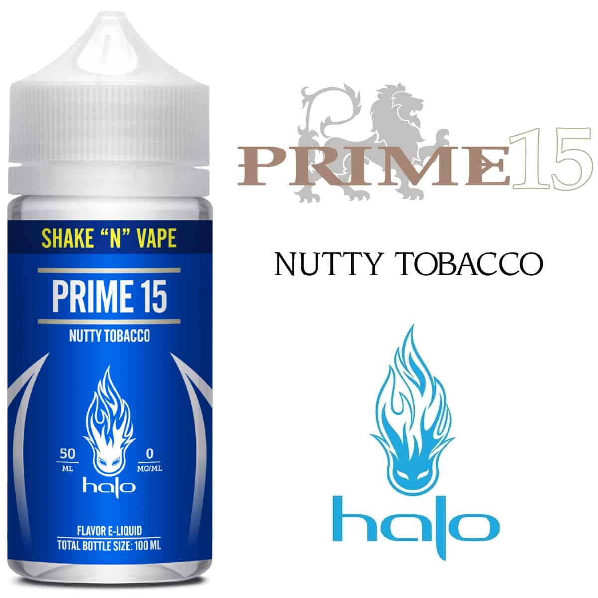 Prime 15 Halo Shortfill 50ml