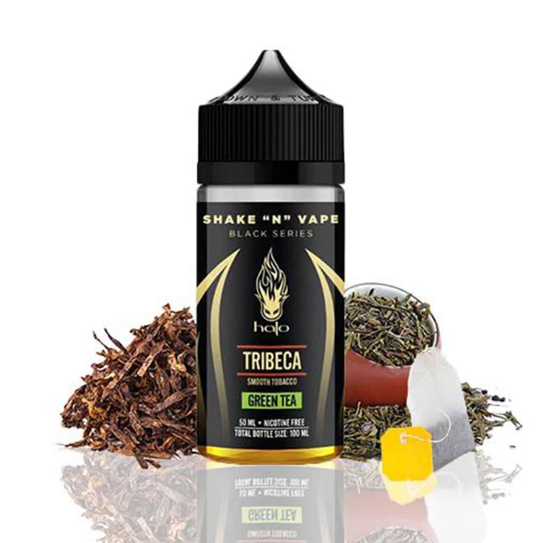Tribeca Green Tea Halo Black Series Shortfill 50ml