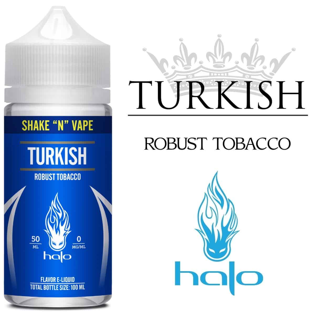 Turkish Halo Shortfill 50ml