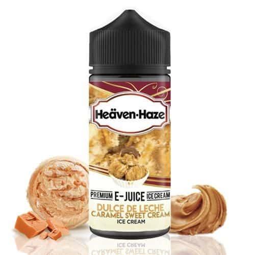 Dulce De Leche Caramel Sweet Cream Ice Cream Heaven Haze Shortfill 100ml