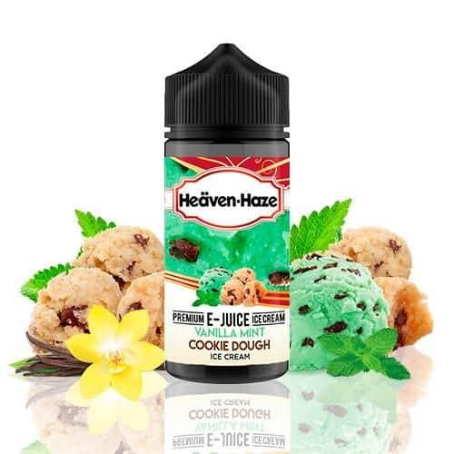 Vanilla Mint Cookie Dough Ice Cream Heaven Haze Shortfill 100ml