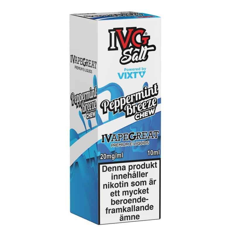 Peppermint Breeze Ivg Salt 20mg 10ml
