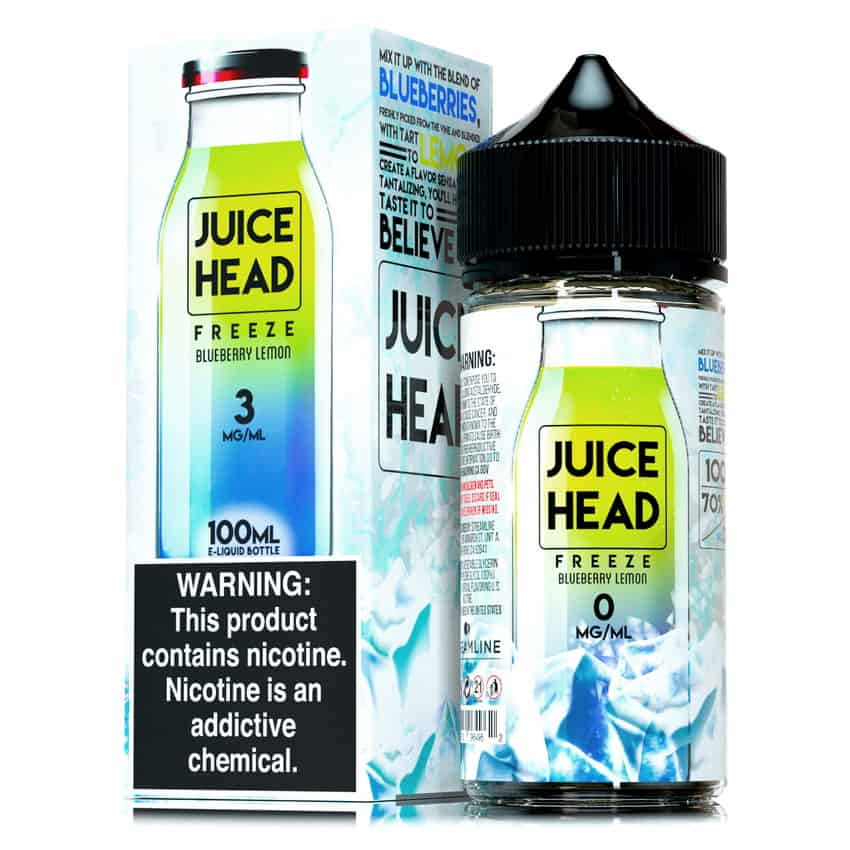 Blueberry Lemon Freeze Juice Head Shortfill 100ml