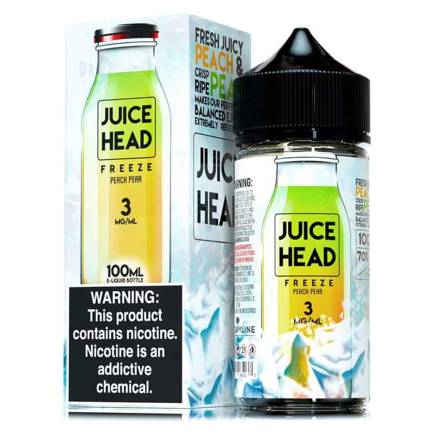Peach Pear Freeze Juice Head Shortfill 100ml