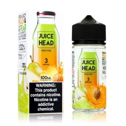 Peach Pear Juice Head Shortfill 100ml
