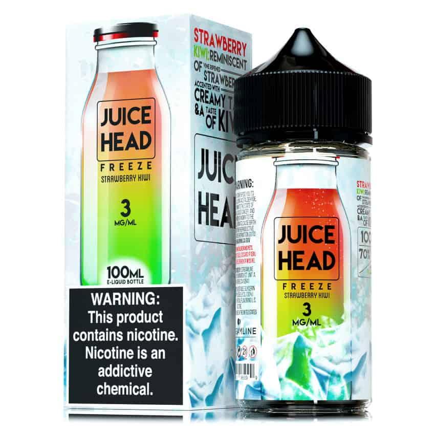 Strawberry Kiwi Freeze Juice Head Shortfill 100ml