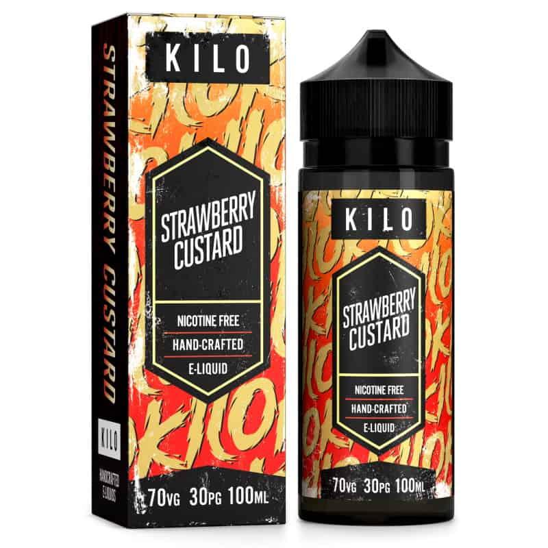 Strawberry Custard Kilo Shortfill 100ml
