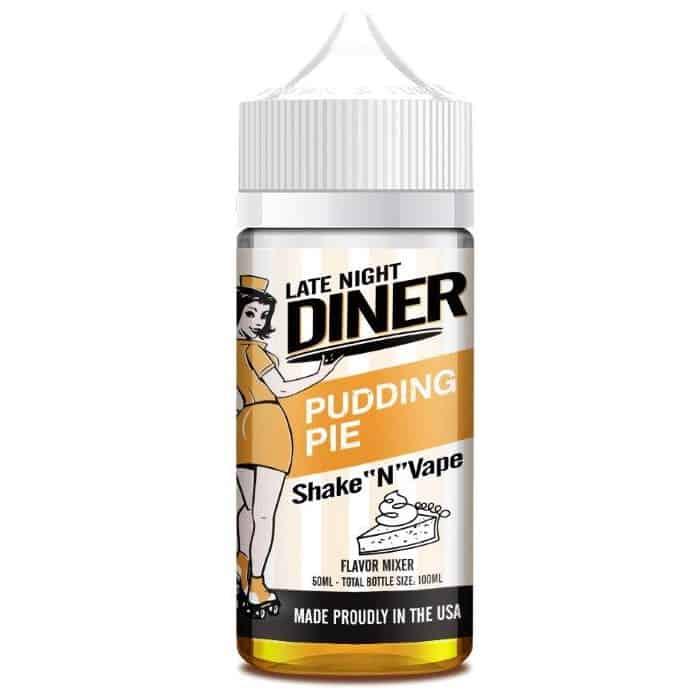 Pudding Pie Late Night Diner Shortfill 50ml