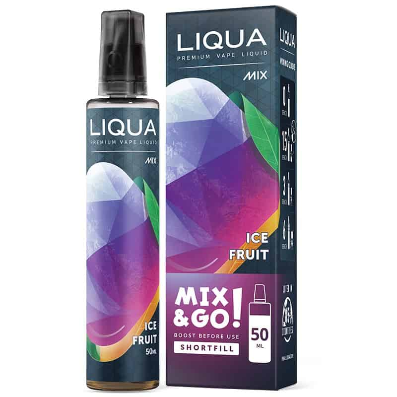 Ice Fruit Liqua Mix&GO Shortfill