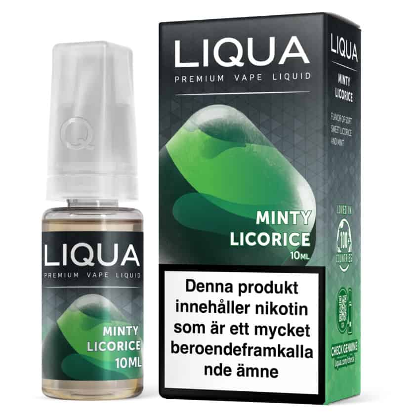Minty Licorice Liqua 10ml