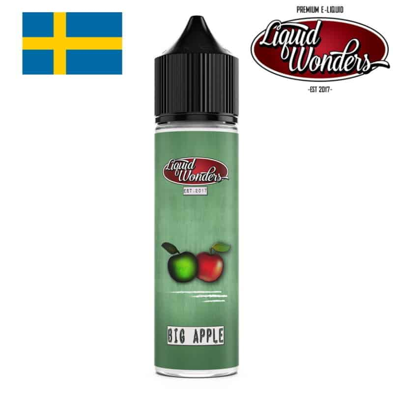 Big Apple Liquid Wonders Shortfill 50ml