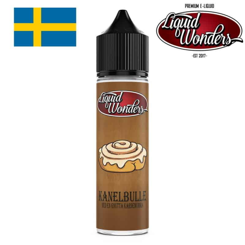 Kanelbulle Liquid Wonders Shortfill 50ml