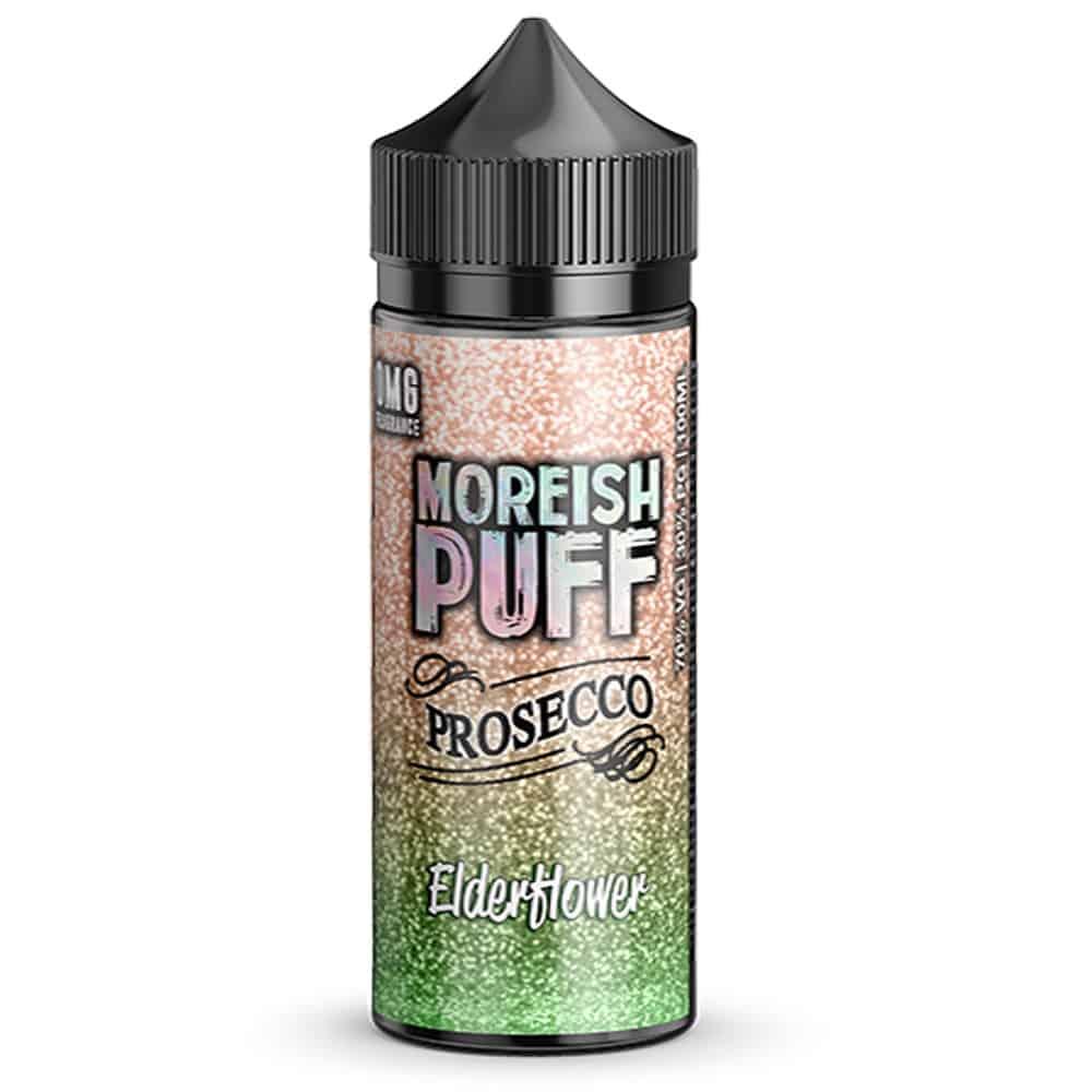 Elderflower Prosecco Moreish Puff Shortfill 100ml