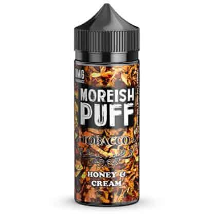 Honey & Cream Tobacco Moreish Puff Shortfill 100ml