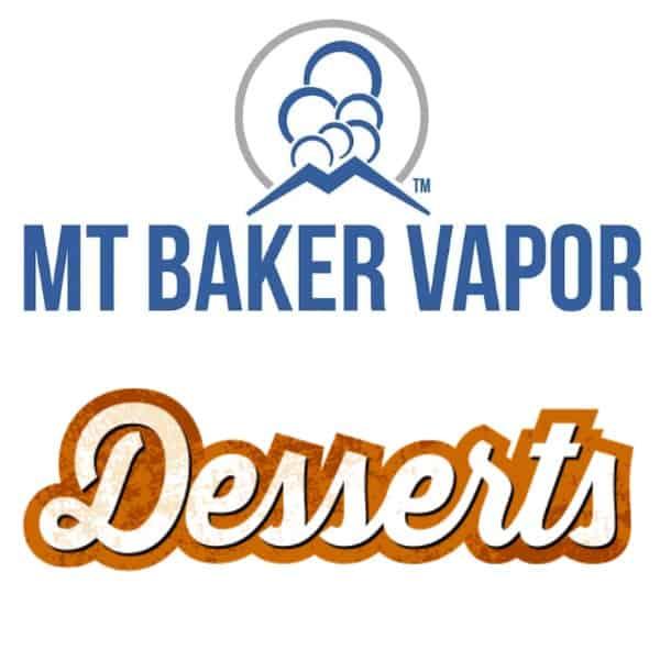 Mt Baker Vapor Custom Shortfills Desserts
