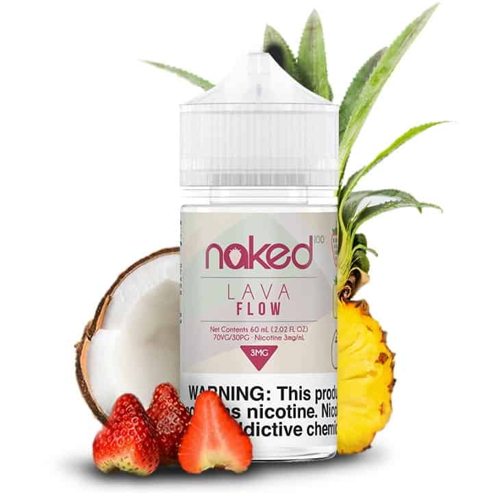 Lava Flow Naked 100 Shortfill 50ml