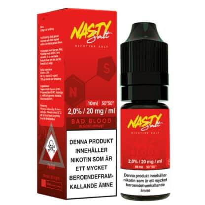 Bad Blood Nasty Salt 20mg 10ml