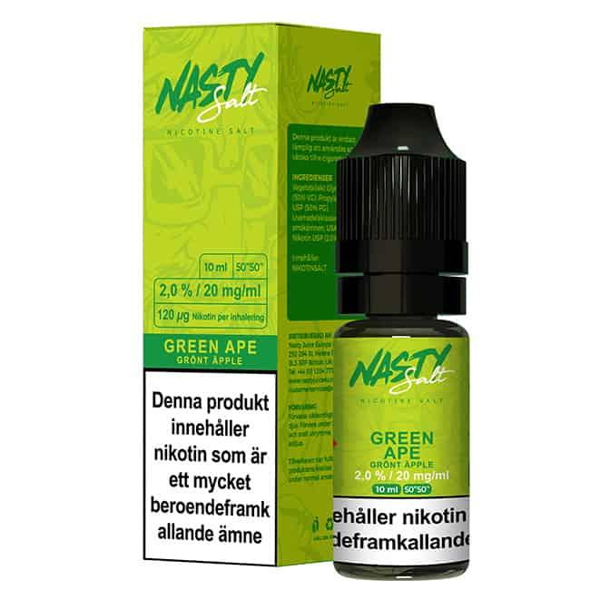 Green Ape Nasty Salt 20mg 10ml