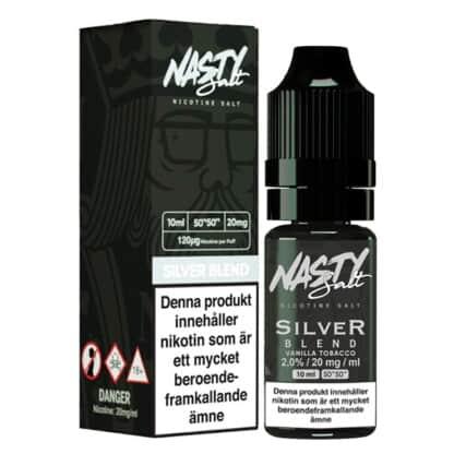 Silver Blend Nasty Salt 20mg 10ml