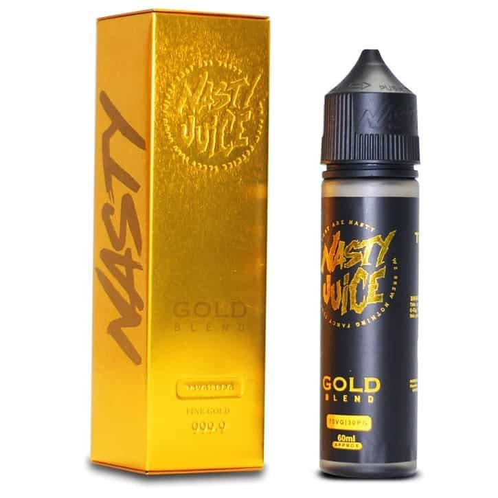Tobacco Gold Blend Nasty Juice Shortfill 50ml