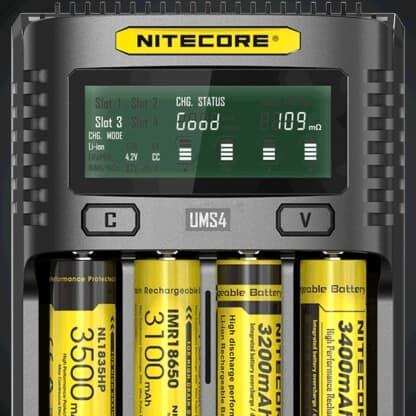 Nitecore UMS4 Display