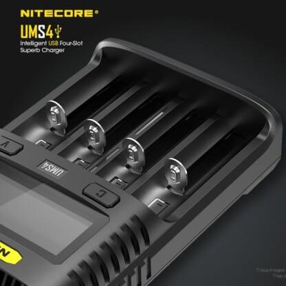 Nitecore UMS4 Slots