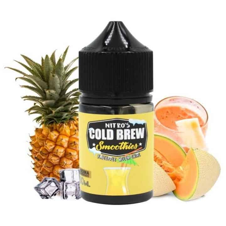 Pineapple Melon Swirl Nitros Cold Brew Smoothies Concentrate