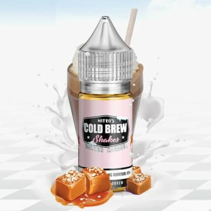 Salted Caramel Nitros Cold Brew Shakes Concentrate