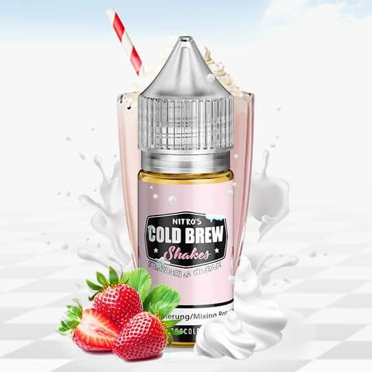 Strawberi And Cream Nitros Cold Brew Shakes Concentrate