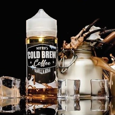 Vanilla Bean Nitros Cold Brew Coffee Shortfill 100ml
