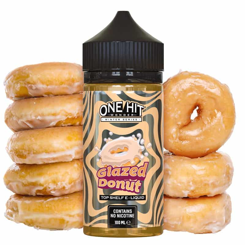 Glazed Donut One Hit Wonder Winter Series Shortfill 100ml