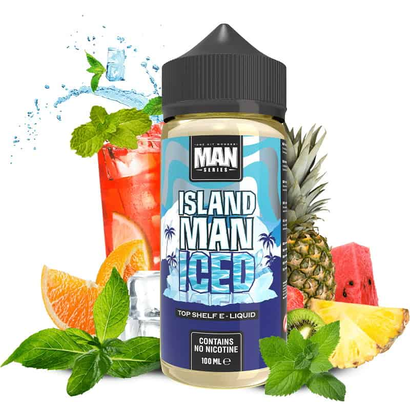 Island Man Iced One Hit Wonder Man Series Shortfill 100ml