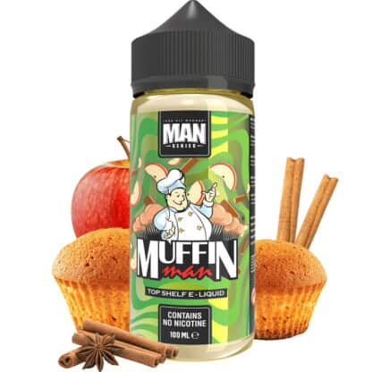 Muffin Man One Hit Wonder Man Series Shortfill 100ml