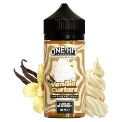 Vanilla Custard One Hit Wonder Shortfill 100ml