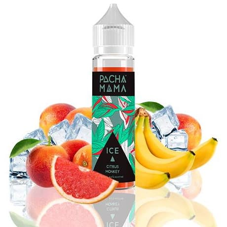 Citrus Monkey Ice Pachamama Shortfill 50ml