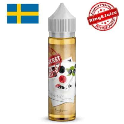 Berries And Cream RingEjuice Top Secret Shortfill 50ml