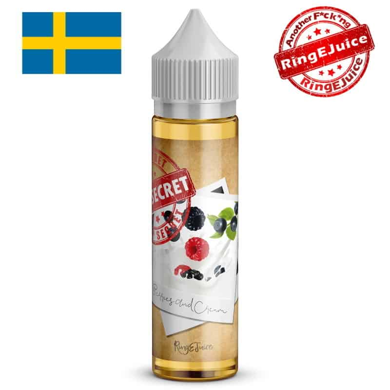 Berries And Cream RingEjuice Top Secret Shortfill 50ml